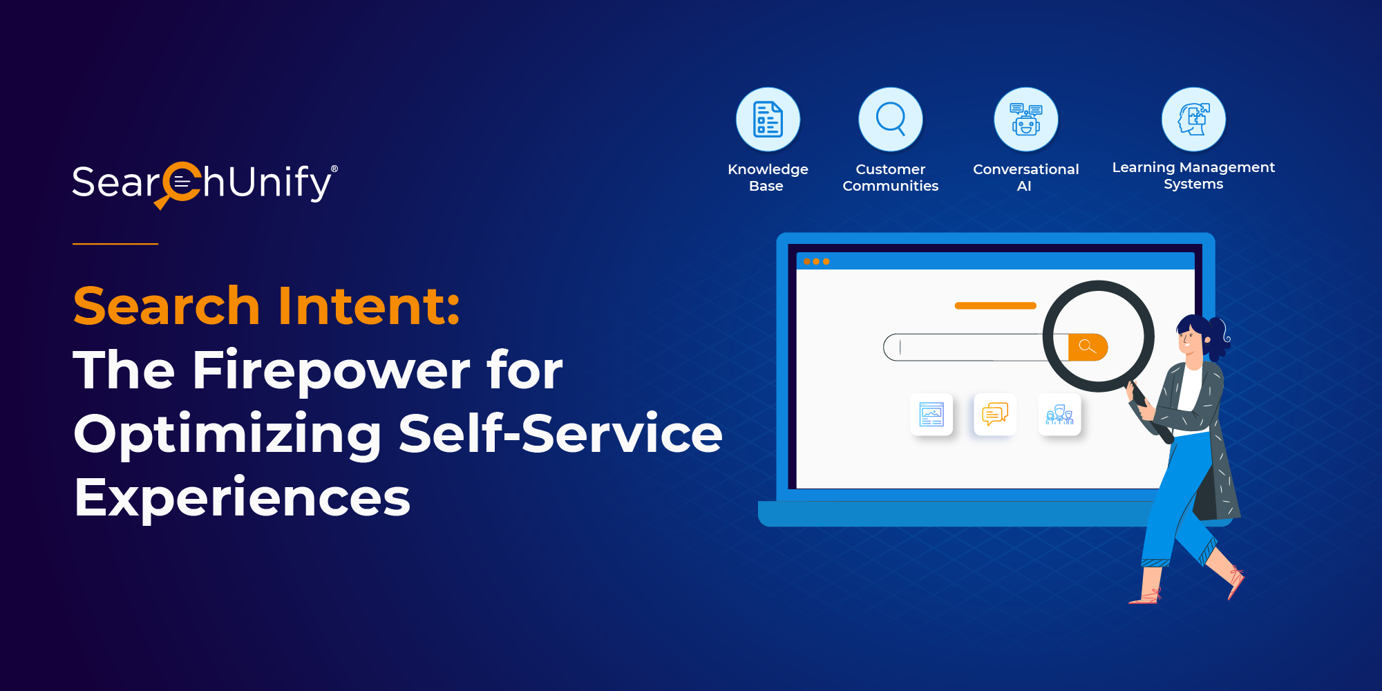 Search Intent: The Firepower for Optimizing Self-Service Experiences