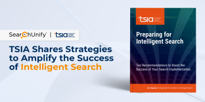 TSIA Shares Strategies to Amplify the Success of Intelligent Search