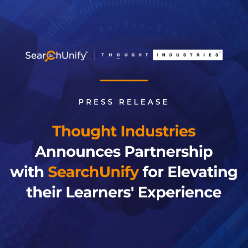Thought Industries Announces Partnership with SearchUnify for Elevating their Learners' Experience