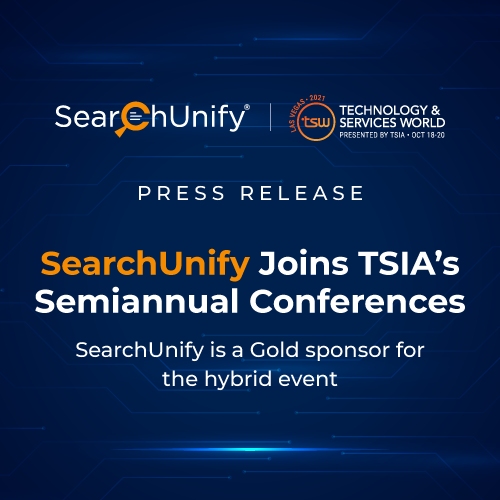 SearchUnify Joins TSIA's Semiannual Conferences
